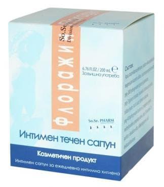 Изображение към продукта ФЛОРАЖИН ИНТИМЕН САПУН 200 мл.