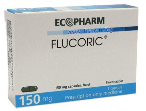 ФЛУКОРИК капс. 150 мг. * 1 - изображение
