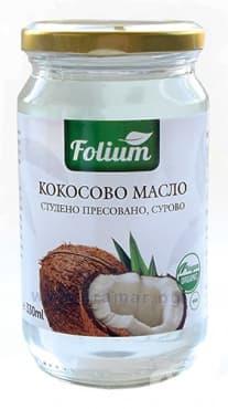 Изображение към продукта ФОЛИУМ КОКОСОВО МАСЛО 330 мл