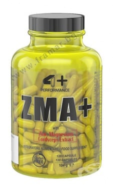 Изображение към продукта 4+ НУТРИШЪН ZMA+ капсули * 120