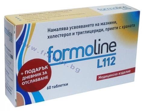 Изображение към продукта ФОРМОЛАЙН L112 таблетки * 60