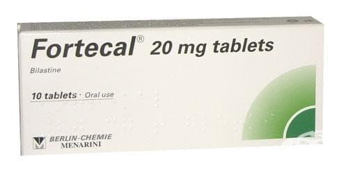 ФОРТЕКАЛ табл. 20 мг. * 10 - изображение