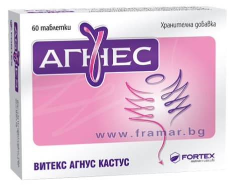 АГНЕС табл. 132 мг * 60 ЗА ЖЕНАТА - изображение