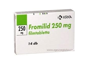 Изображение към продукта ФРОМИЛИД табл. 250 мг. * 14