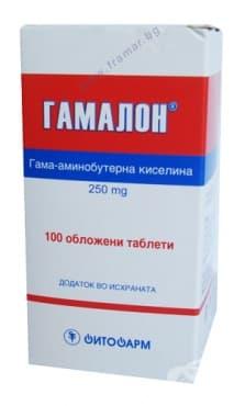 ГАМАЛОН таблетки * 100 ФИТОФАРМ - изображение
