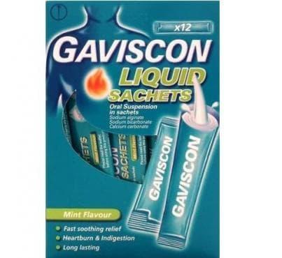 Изображение към продукта ГАВИСКОН сашета 10 мл * 12