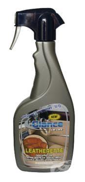 Изображение към продукта ГЛАНС КЛИЪР ПРЕПАРАТ ЗА ИЗКУСТВЕНА КОЖА, ВИНИЛ, ПЛАСТМАСА 500 мл.