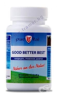 Изображение към продукта ПЮРВИТАЛ GOOD BETTER BEST капсули * 60