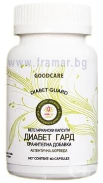 Изображение към продукта ДИАБЕТ ГАРД капсули * 60 GOODCARE