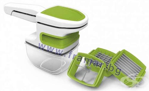 Изображение към продукта УНИВЕРСАЛНО РЕНДЕ GOURMETMAXX COMPACT CHOP`N SLICE