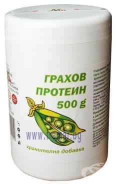 Изображение към продукта ГРАХОВ ПРОТЕИН 500 гр. НУТРИМАКС