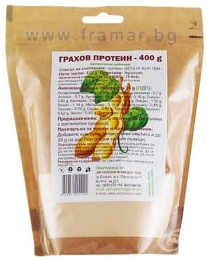 Изображение към продукта ГРАХОВ ПРОТЕИН 400 гр. ЯЖ ПОЛЕЗНО
