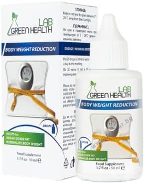Изображение към продукта GREEN HEALTH LAB БОДИ УЕЙТ РИДАКШЪН ЗА РЕГУЛИРАНЕ НА ТЕГЛОТО / ОТСЛАБВАНЕ капки 50 мл