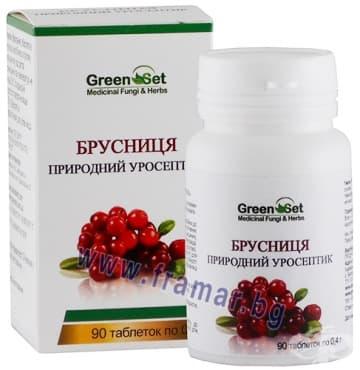 Изображение към продукта ГРИЙНСЕТ ЧЕРВЕНА БОРОВИНКА таблетки * 90