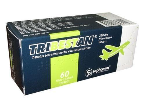 ТРИБЕСТАН  табл. 250 мг. * 60 - изображение
