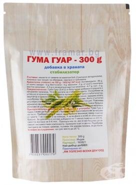 Изображение към продукта ГУМА ГУАР 300 г ЯЖ ПОЛЕЗНО