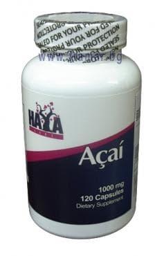 Изображение към продукта ХАЯ ЛАБС АКАЙ капс. 1000 мг. * 120