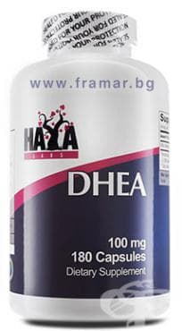 Изображение към продукта ХАЯ ЛАБС DHEA капсули 100 мг * 180