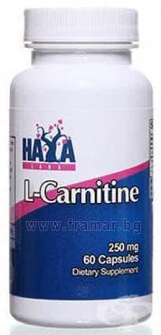 ХАЯ ЛАБС L - КАРНИТИН капс. 250 мг. * 60 - изображение