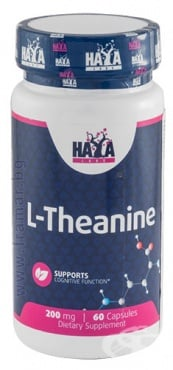 Изображение към продукта ХАЯ ЛАБС L - ТЕАНИН капсули 200 мг * 60