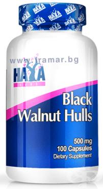 Изображение към продукта ХАЯ ЛАБС ЧЕРЕН ОРЕХ капсули 500 мг. * 100