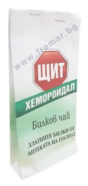 ЧАЙ ХЕМОРОИДАЛ 23 гр. ЩИТ - изображение