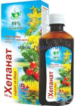 Изображение към продукта ХЕПАНАТ сироп за деца 250 мл.