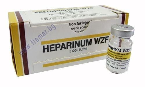 Изображение към продукта ХЕПАРИН фл. 25 000 IU * 10