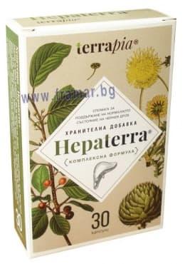 Изображение към продукта ХЕПАТЕРА капсули * 30
