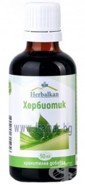 Изображение към продукта ХЕРБАЛКАН ХЕРБИОТИК тинктура 50 мл