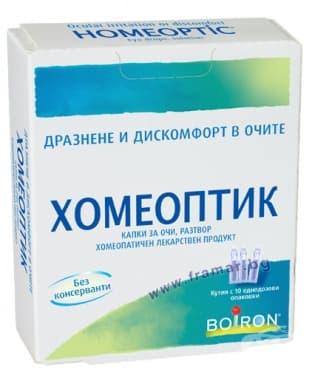 Изображение към продукта ХОМЕОПТИК капки очи дози * 10