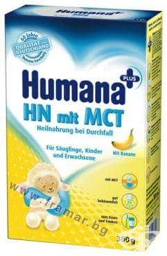 Изображение към продукта ХУМАНА HN mit MCT ЛЕЧЕБНО МЛЯКО ЗА ХРОНИЧНА ДИАРИЯ 300 гр.