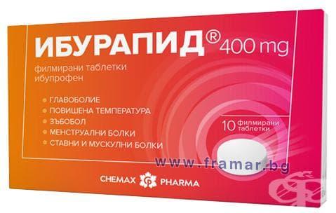 ИБУРАПИД таблетки 400 мг. * 10 - изображение