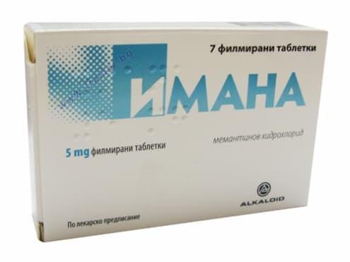 ИМАНА таблетки 5 мг. * 7 - изображение