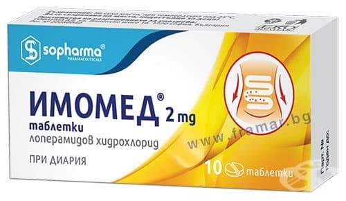 Изображение към продукта ИМОМЕД таблетки 2 мг * 10 СОФАРМА