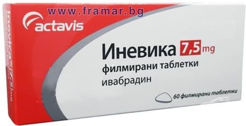 Изображение към продукта ИНЕВИКА таблетки 7.5 мг * 60 АКТАВИС
