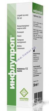 Изображение към продукта ИНФЛУПРОП спрей за нос 30 мл.