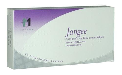 ЖАНГИ таблетки 0.03 мг. / 3 мг. * 21 - изображение