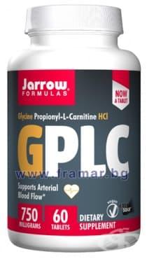 ДЖАРОУ ФОРМУЛАС GPLC GLYCOCARN таблетки 750 мг. * 60 - изображение