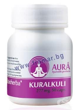 Изображение към продукта АУРА КУРАЛКУЛИ капсули 277 мг. * 50