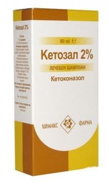 Изображение към продукта КЕТОЗАЛ  ШАМПОАН 60 мл.