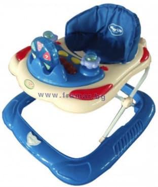 Изображение към продукта КИКА БО ПРОХОДИЛКА NUMBERS DARK BLUE