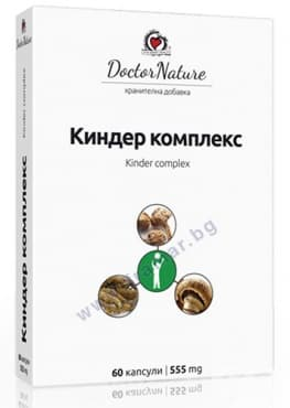 Изображение към продукта КИНДЕР КОМПЛЕКС капсули * 60 DOCTOR NATURE