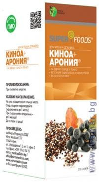 КИНОА + АРОНИЯ сироп 200 мл. - изображение