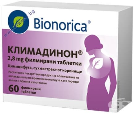 Изображение към продукта КЛИМАДИНОН таблетки * 60 BIONORICA