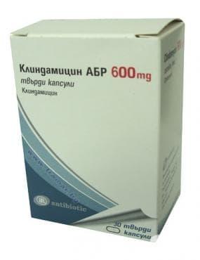 Изображение към продукта КЛИНДАМИЦИН АБР капсули 600 мг * 30
