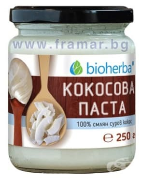 Изображение към продукта БИОХЕРБА КОКОСОВА ПАСТА 250 гр.