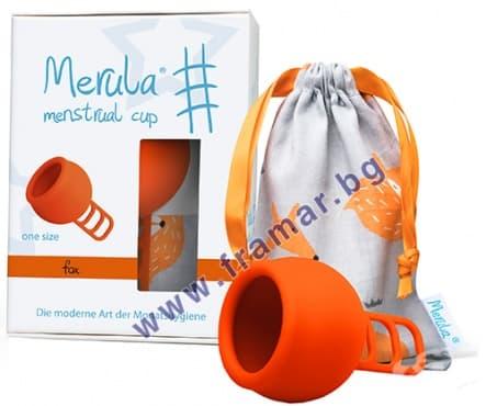 Изображение към продукта МЕНСТРУАЛНА ЧАШКА МЕРУЛА ЛИСИЦА един размер