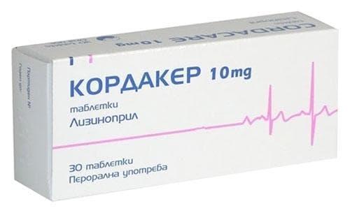 КОРДАКЕР табл. 10 мг. * 30 - изображение