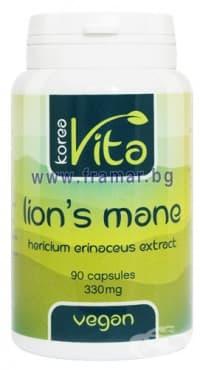 Изображение към продукта КОРЕАВИТА ЛЪВСКА ГРИВА капсули 330 мг. * 90